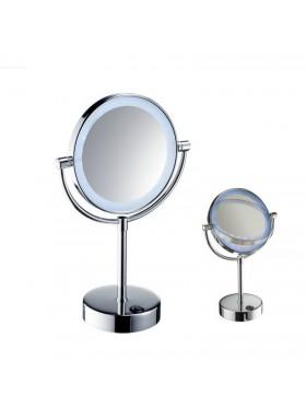 Espejo sobremesa aumento 5x LED 3W