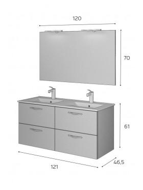 Mueble de baño Hermes II