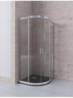 Mampara semicircular de ducha Delia  TRATAMIENTO ANTICAL INCLUIDO