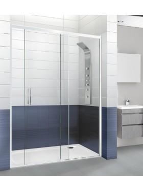 Mampara de ducha Versalles en blanco