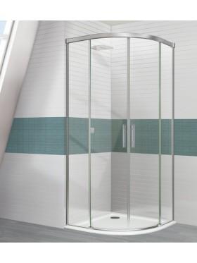 Mampara de ducha Estambul cromo