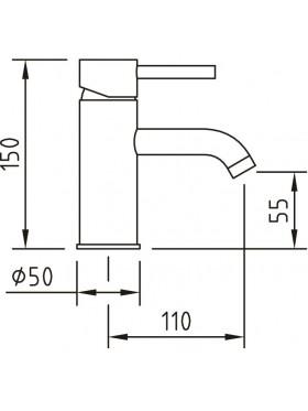 Grifo lavabo caiman