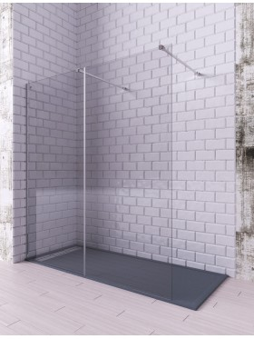 Mampara de ducha cristal fijo Melody