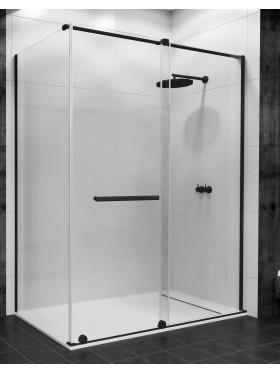 Mampara de ducha perfil negro Irati