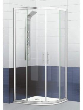 Mampara de ducha semicircular Versalles