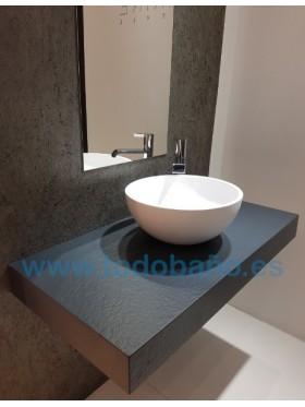 Encimera de baño Solid surface