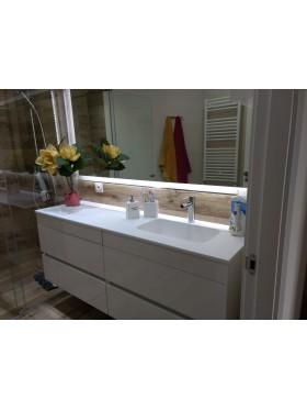 Mueble de baño Dúo compuesto 160 cm