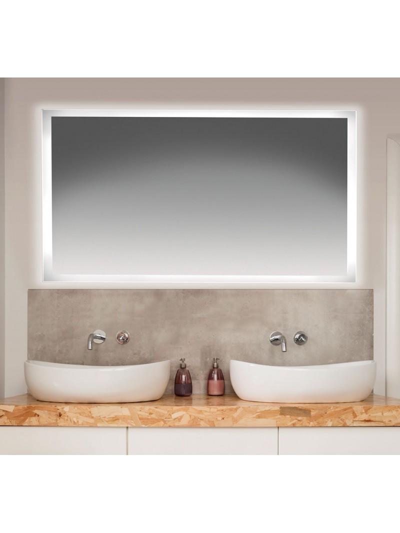 Espejo de ba o retroiluminado sunlight - Espejo retroiluminado bano ...