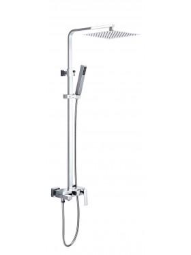 Conjunto de ducha monomando Mitra