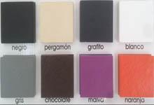 Colores plato de ducha pizarra
