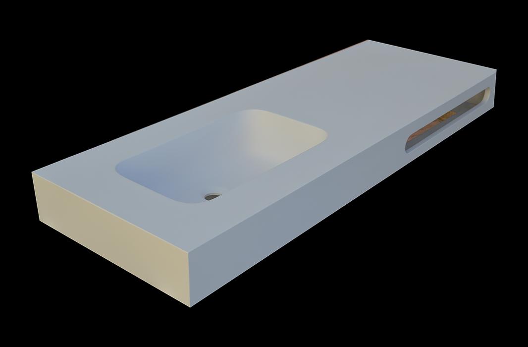 encimera solid surface