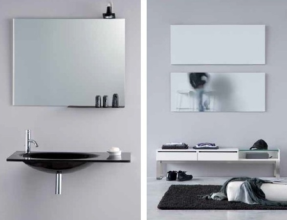 Comprar espejos de ba o a medida online todoba o for Pared de espejo precio