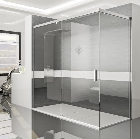 Mamparas de ba o y ducha muy baratas posibilidad a for Mamparas ducha a medida