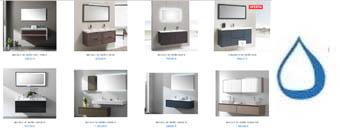Muebles de baño dos senos